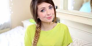 vote zoella u0027s best hair ever playbuzz