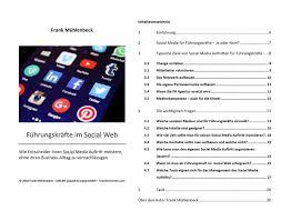 adresse si e social führungskräfte im social web wie entscheider ihren social media