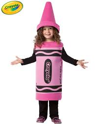 toddler tickle me pink crayon costume kids costumes