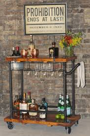 Home Mini Bar by Top 25 Best Rustic Bar Carts Ideas On Pinterest Rustic Outdoor