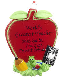 world s greatest apple personalized ornament