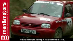 nissan micra rally car richard hammond rallying in a nissan micra part 2 youtube
