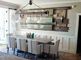 Lighting For Dining Room Interior Giving Vintage Style To A House Through Farmhouse