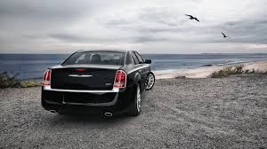 chrysler car chrysler car and sea bird backgrounds widescreen and hd background
