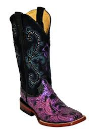 womens size 11 square toe cowboy boots best 25 purple cowboy boots ideas on purple boots