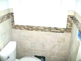 bathroom tiles idea bathroom accent wall ideas easy bathroom update add a blue accent