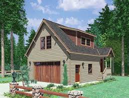 cabin plans with garage plan 8182lb carriage house in the woods garage studio mountain