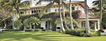 Colonial House Style A Spanish Colonial Style Fort Lauderdale Home With Striking Water