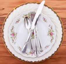 wedding silverware mismatched silverware something vintage rentals