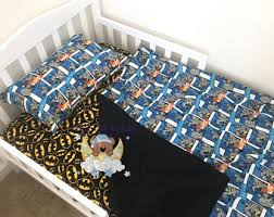 Batman Toddler Bedding Batman Crib Sheets Etsy