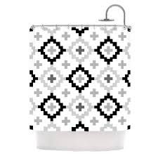 Kess Shower Curtains Pellerina Design