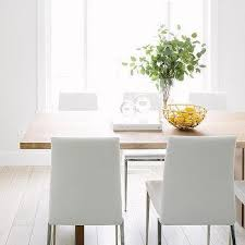 Leather Dining Chairs Design Ideas Modern White Leather Dining Chairs Design Ideas