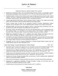 sales key words sales resume