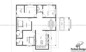 modern home design layout 1420 sq ft modern home design kerala home design