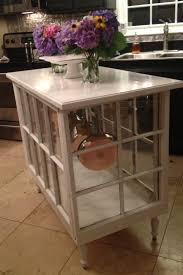 kitchen island made out of old windows love pretty things