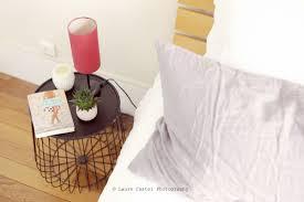 linge lit lin une chambre tout en lumière les petits riens