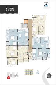 floor plan silver crown at gandhi path vaishali nagar jaipur