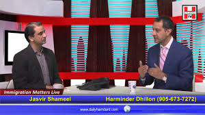 Immigration Special Special Talk On Immigration Matter With U0027harminder Dhillon U0027 On