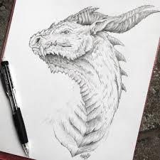 dragon sketch by frostwhisker1 on deviantart