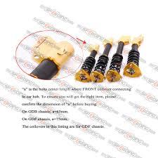 subaru gdf coilover for subaru impreza wrx sti gdf adjustable coilovers