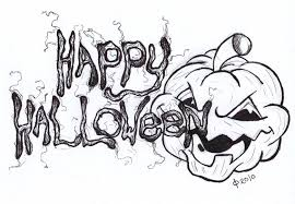 Halloween Drawing Halloween 2016 Colouring Sheets Coloring Page Printable