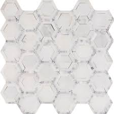 ms international telaio hexagon 12 in x 12 in x 10 mm honed