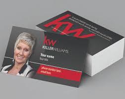 Keller Williams Business Cards Keller Williams Etsy