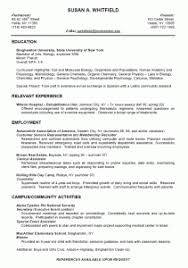 Best Resume Format For College Students by Lofty Ideas Student Resume Examples 9 Sample College Student