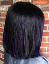 black hairstyles purple 25 balayage hairstyles for black hair