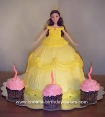 coolest princess belle cake