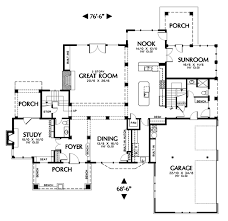 2 story great room floor plans mascord house plan 2412 the lyons