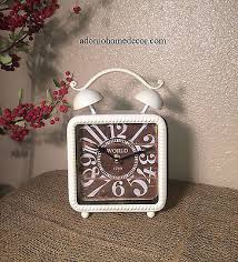 table clocks collection on ebay