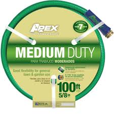 apex 5 8 in dia x 100 ft medium duty water hose 8535 100 the