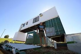 shipping container is home news mail