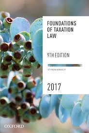 foundations of taxation law 2017 barkoczy stephen the co op