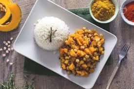 giallo zafferano cucina vegetariana ricetta curry vegetariano con zucca e ceci la ricetta di