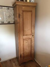 antique pine broom cupboard in kelvedon essex gumtree