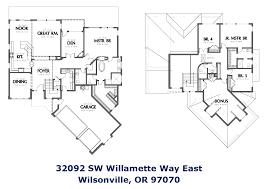floor plans with two master suites wilsonville riverfront homes