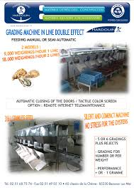 grading machine grading machine in line double effect hardouin forge marine