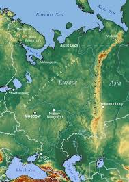 Russian Map Map Of European Russia Nations Online Project