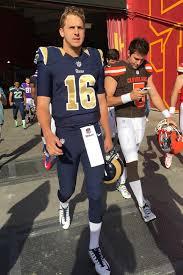 barbi benton 2016 l a rams quarterback fellow nfl rookies undergo hollywood style