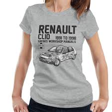 haynes owners workshop manual renault clio black women u0027s t shirt
