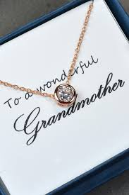 grandmother gift mothers jewelry necklace grandmother gift in