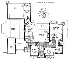garage house floor plans country style house plans plan 8 588