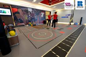 Gym Flooring For Garage by Neoflex 600 Series With Graphics Fitness Flooring Fitness First