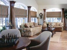 Window Drapes And Curtains Ideas 15 Stylish Window Treatments Hgtv