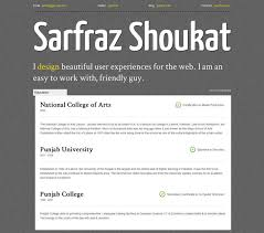 free creative and professional css3 cv resume template