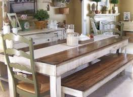 Simple Kitchen Tables by Dining Room Table With Bench And Chairs Provisionsdining Com