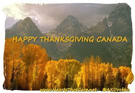 happy thanksgiving canada a of bliss