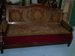 divano ottomano divano ottomano letto luigi filippo originale noce